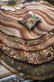 Couvertures et oreillers images stock