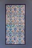 Couvre de tuiles le modèle du ` s de Babylone la porte d'Ishtar à l'intérieur du musée Pergamonmuseum, Berlin, Allemagne de Perga Photo libre de droits