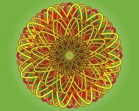 Couvre-tapis coloré Images libres de droits