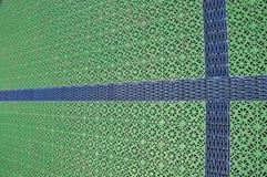 Couvre-tapis d'étage avec la configuration abstraite Image stock
