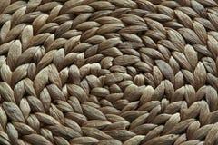 Couvre-tapis de paille Images stock