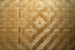 Couvre-tapis de place en bambou Photos stock