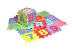 Couvre-tapis de puzzle photos libres de droits