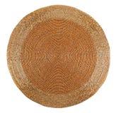 Couvre-tapis de table d'or de beadwork Photo libre de droits