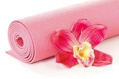 Couvre-tapis de yoga Photo stock