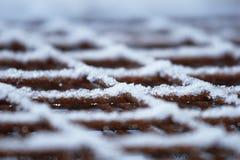 Couvre-tapis en acier de renfort Image stock