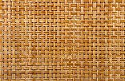 Couvre-tapis en bambou image stock