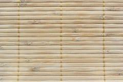 Couvre-tapis en bambou Photographie stock libre de droits