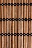 Couvre-tapis en bambou Images libres de droits