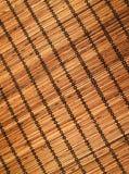 Couvre-tapis en bambou Photo libre de droits