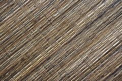 Couvre-tapis en bambou Photos libres de droits