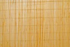 couvre-tapis en bambou Photos stock