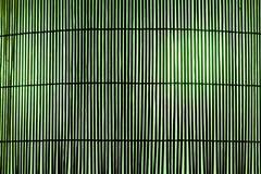 Couvre-tapis en bambou de planche Photo libre de droits