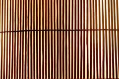 Couvre-tapis en bambou de planche Photographie stock libre de droits