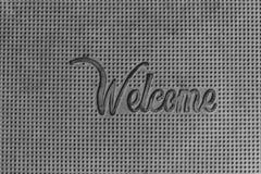 Couvre-tapis en caoutchouc Photo libre de droits