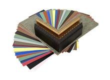 Couvre-tapis et échantillons de trame Photographie stock libre de droits