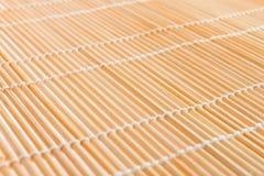 Couvre-tapis japonais, texture pour effectuer des sushi Image libre de droits