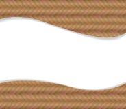 Couvre-tapis tissé par paille illustration de vecteur