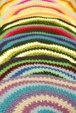 Couvre-tapis tricotés. Photo stock