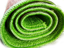 Couvre-tapis vert Photo stock