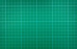 Couvre-tapis vert de découpage Photo libre de droits