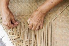 Couvrez de chaume le couvre-tapis Image stock