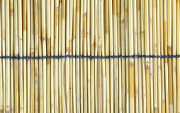 Couvrez de chaume le couvre-tapis Photo stock