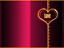 Couvrez le backgroud de carte de voeux, rose et noir de jaune au néon h Images libres de droits