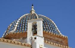 Couvrez le dôme sur le monastère, Lliria, Espagne Images libres de droits