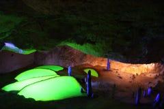 Cova d'en Marçà Image stock