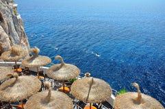 Cova d'en Xoroi, Menorca, Spanje Royalty-vrije Stock Afbeeldingen