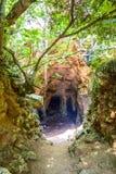 Cova des Coloms Stock Image