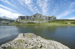 Covadonga Royalty Free Stock Photography