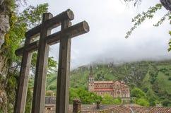 Covadonga, Asturias Royalty Free Stock Photography