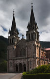 Covadonga basilica Royalty Free Stock Image