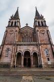 Covadonga Basilica Facade Stock Photo