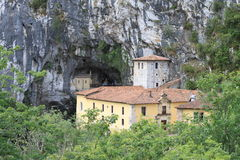 Covadonga grotto Royalty Free Stock Photography