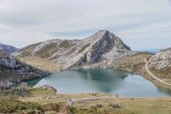 Covadonga jeziora Obraz Stock