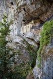 Covadonga kapell Arkivbild