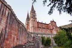 Covadonga kyrka Arkivbilder