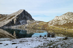 Covadonga lakes Royalty Free Stock Photography