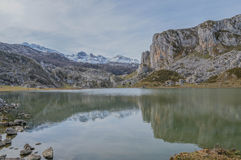 Covadonga Lakes Royalty Free Stock Images