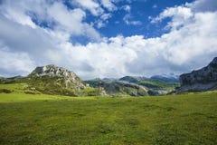 Covadonga. Landscape, Picos de Europa, Asturias, Spain Stock Photo