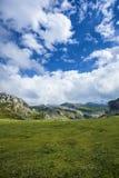 Covadonga 2. Covadonga landscape, Picos de Europa, Asturias, Spain Stock Photos