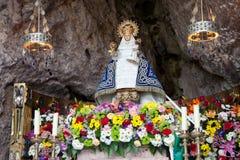 covadonga oskuld royaltyfri bild