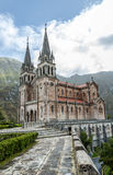 Covadonga sanctuary, Asturias, Spain Stock Images
