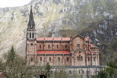 Covadonga sanctuary, Asturias, Spain Stock Photos