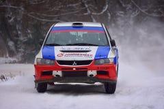 COVASNA, RUMÄNIEN - 16. Januar: Die unbekannten Piloten, die im Winter konkurrieren, sammeln Covasna 2016 am 16. Januar, in Covas Lizenzfreie Stockfotos