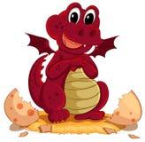 Covata del drago royalty illustrazione gratis