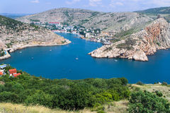 Cove bay ... Cove in Balaklava, Black Sea, Ukraine Stock Photo
